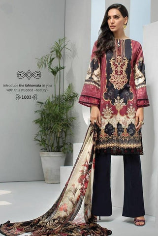 Razzo Exports Presents Firdose Nx Lwan Cotton Fox Georgette Pakistani Salwar Suits