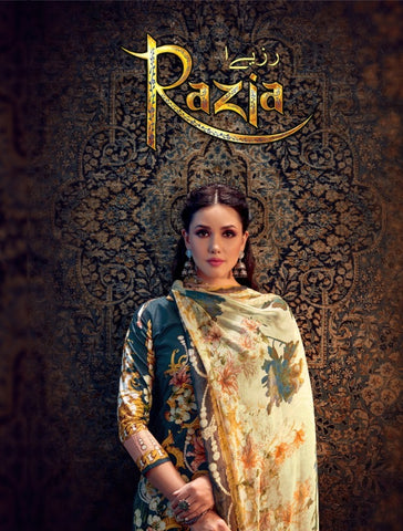 Radhika Fashion Razia Cambric Printed Dress Matrial In Wholesale