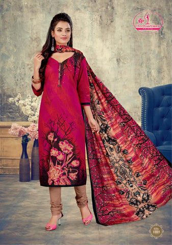 MISS WORLD SAHELI VOL.1 PRINTED SUMMER WEAR COTTON SUITS