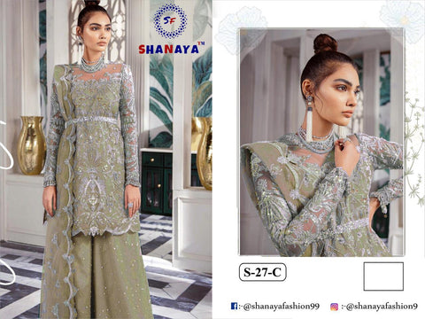 Shanaya Fashion S 27 Colors Butterfly Net Georgette Pakistani Salwar Suits