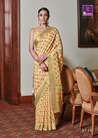 Shangrila Presents Sophia Brasso Pure Viscose Fancy Designer Sarees