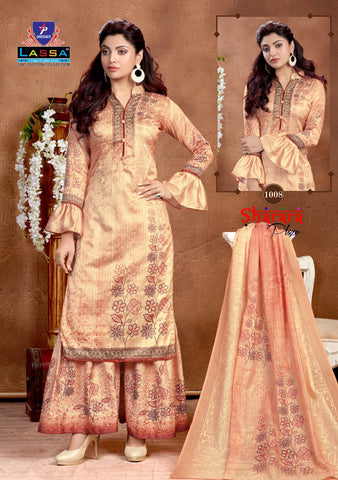 Lassa Sharara Plazo Vol 1 Pakistani Designer Salwar Suits
