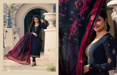 Vinay Fashion Llp Silkina Royal Crepe Vol 24 Casual Designer Salwar Suits