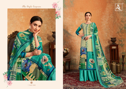 ALOK SUIT INTRODUCES SIMORA FRENCH CRAPE DIGITAL PRINTED SUIT