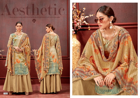 Sweety Fashion Launched Topaz Pure Pashmina Printed Fancy Designer Kameez