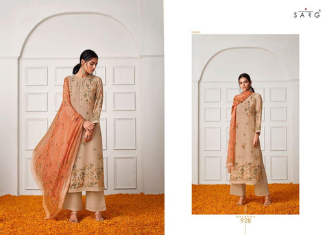 Sarg Gulbagh Cotton Silk Digital Printed Salwar Kameez
