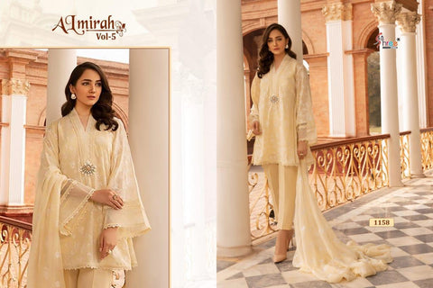 Shree Fabs Almirah Vol 5 Exculsive Embroidery Collection Salwar Suits