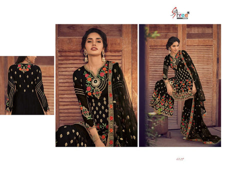 Shree Fabs Shehnai Bridal Collection Vol 25 Georgette Bridal Wear Suit