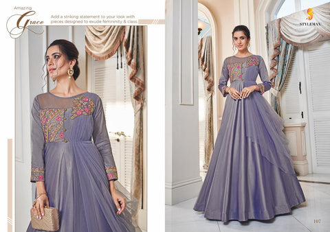 Stylemax Almirah Vol 1 Stylish Attractive Party Wear Kurti Collection