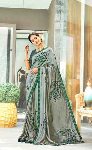 Shangrila Creation Swaroski Vol 3 Casual Designer Fancy Saree