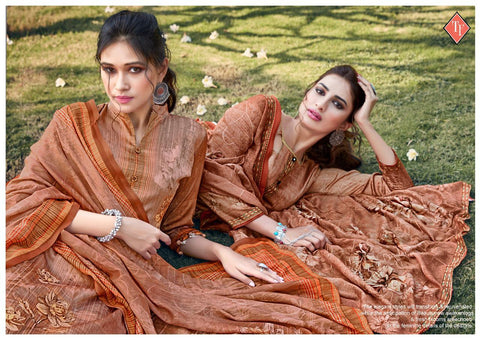 Tanishk Fashion Tahira Jam Silk Digital Print Salwar Suit