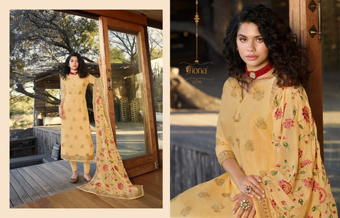 Fiona Presents Taniya Dola Jacquard Designer Collection Salwar Kameez