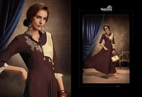 Vardan Designer Passion Vol 2 Rayon Long Kurti