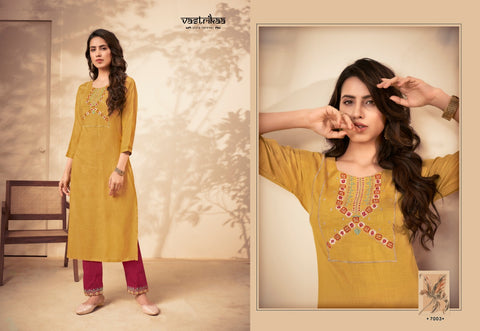 Vastrikaa Savya Vol 2 Casual Cotton Kurti Collection