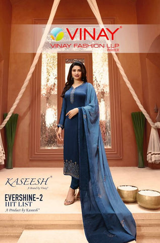 Vinay Fashion Evershine Vol 2 Hitlist Party Wear Collection
