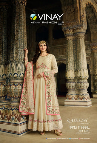 Vinay Fashion Rangmahal Georgette Stylish Party Wear Salwar Suit