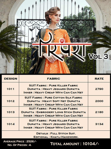 Virasat Parampara Vol 3 Festive Designer Gown Collection