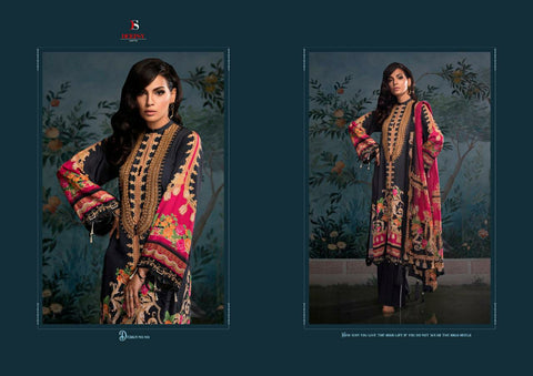Deepsy Suits Elan Vol 9 Hit Designer Embroidered Collection