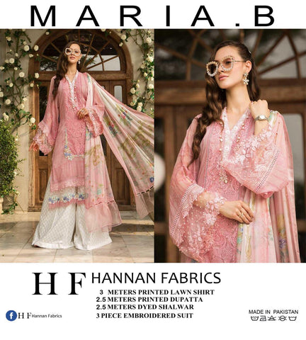 Maira B Embroidered Lawn Collection 2019 Pakistani Collection Suits