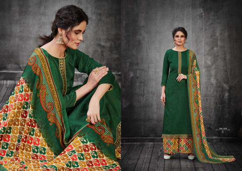 Zulfat Designer Suits Launched Patiala Dreams Pashmina Printed Kashmiri Salwar Kameez