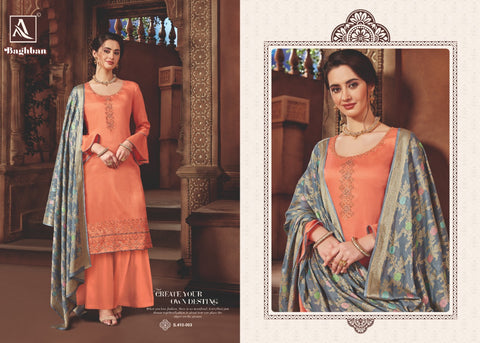 Alok Suit Baghban Attractive Trendy Salwar Suits Collection