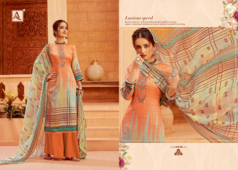 Alok Suit Saira Pakistani Designer Salwar Kameez Collection