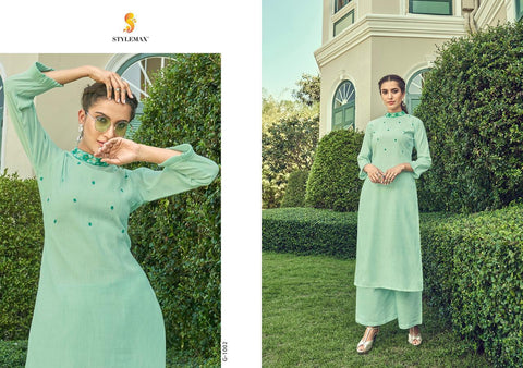 STYLEMAX INTRODUCES ANANYA VOL.1 COTTON KURTI WITH PLAZO COLLECTION