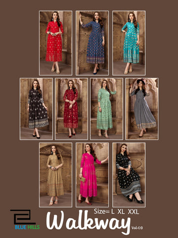 Blue Hills Walkway Vol 3 Beautiful Kurties