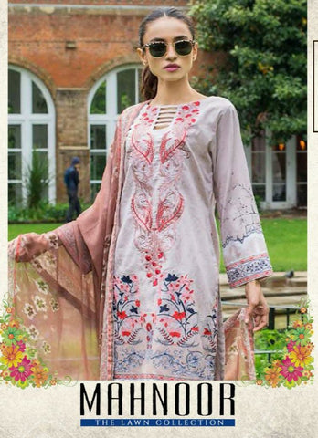 Yashika Designer Mahnoor Lawn Cotton Karachi Pakistani Suits