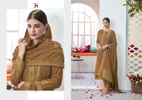 Deepsy Suits Haesel Viscose Silk Jacquard Embroidered Designer Suit