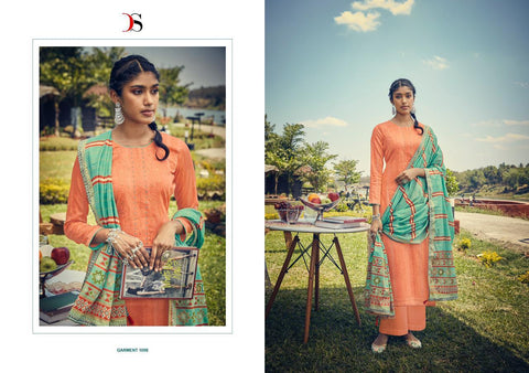 Deepsy Suits Panghat Vol 9 Jam Silk Cotton Embroidery Pakistani Suit