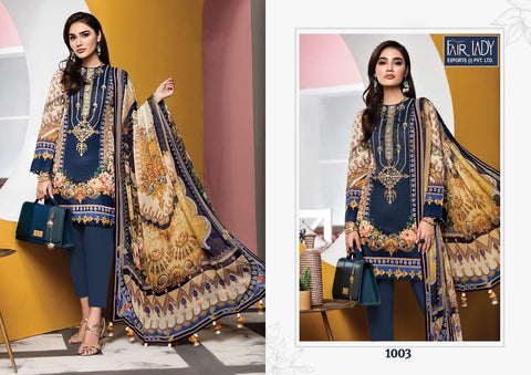 Fairlady Viva Anaya Cotton Printed Salwar Suits Collections