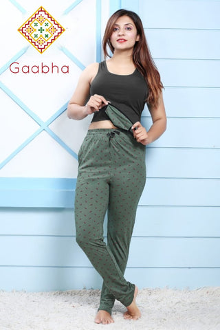 GAABHA BOTTOMS WITH MASK NIGHT WEAR COLLECTION