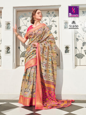 SHANGRILA MUGA SILK SUPER HIT SERIES SAREE COLLECTION
