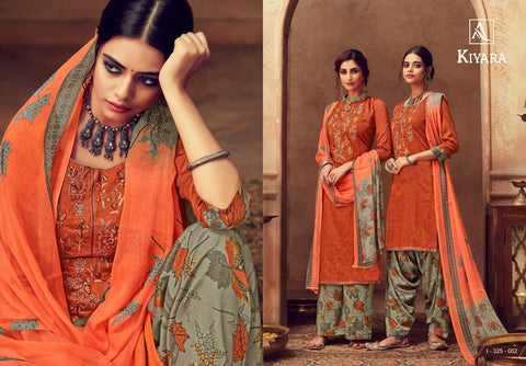 Alok Suits Kiyara Patiyala Punjabi Salwar Suit Attractive Dress Material