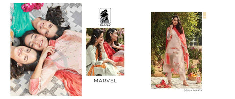 Sahiba Presents Marvel Exclusive Collection Of  Digital Printed Dress