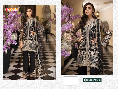 Fepic Rosmeen Georgette Pakistani Dress Material