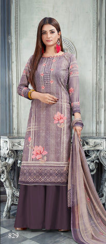 BIPSON BRINGS NARGIS DAILYWEAR PRINTED DRESS MATERIAL