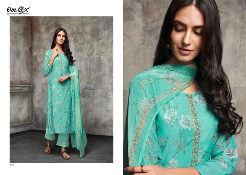 OMTEX PRESENTS FLORIA LAWN COTTON SALWAR SUIT COLLECTION