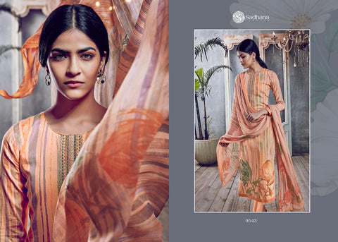 Sadhana Fashion Presents Vol 28 Pure Cotton Fancy Worked Suits