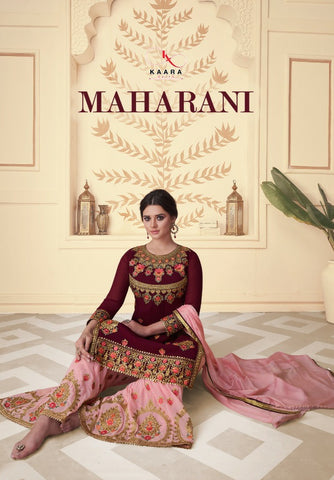 Kaara Suits Maharani georgette Pakistani Salwar Suit