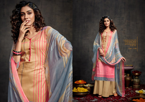 KESAR EBA LAWN COTTON SATIN DIGITAL PRINT SALWAR SUIT COLLECTION