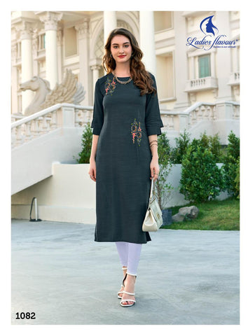 Ladies Flavour Miss India Vol 2 Stylish Kurti Collection