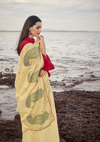 LT Fashion Pari Beautifully Designed Soft Cotton Sarees Collection