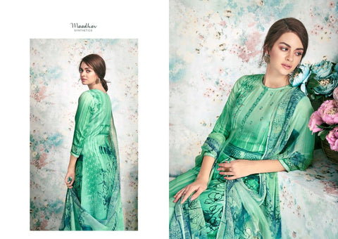 Maadhav Elite Beautifully Designed Attractive Look Salwar Suit Collection