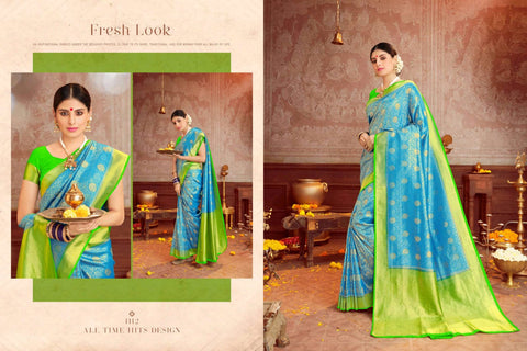 Panache Present Royal Silk Traditional Wear Saree Collection