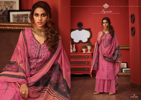Radhika Miraki Lawn Cotton Printed Salwar Kameez Collection