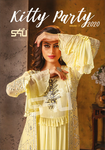 S4U Kitty Party Vol 7 New Fancy Wear Kurti Collection