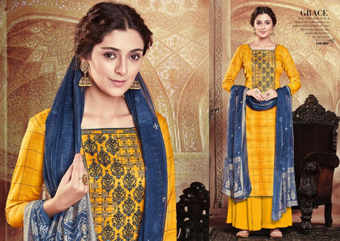 Sargam Prints Grace Beautifully Designed Salwar Suit Collection