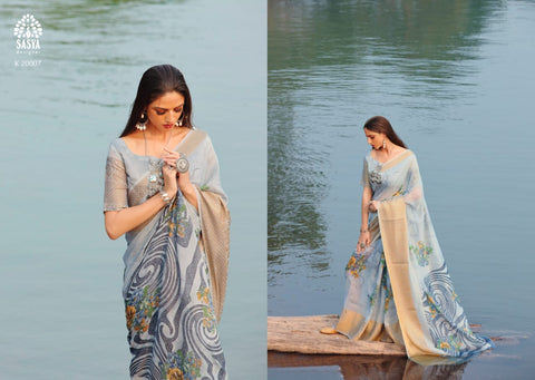 Sasya Designer Ruh Innovative Style Designed Saree Collection